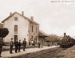 Gare de Sauclières