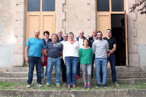Conseil municpal de Sauclières